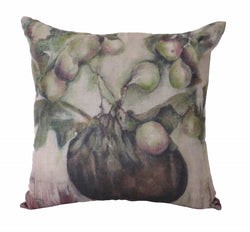 Ivy & Fig Linen Cushion Cover 55cm