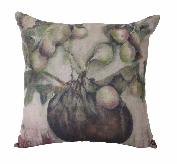 Ivy & Fig Linen Cushion 55cm