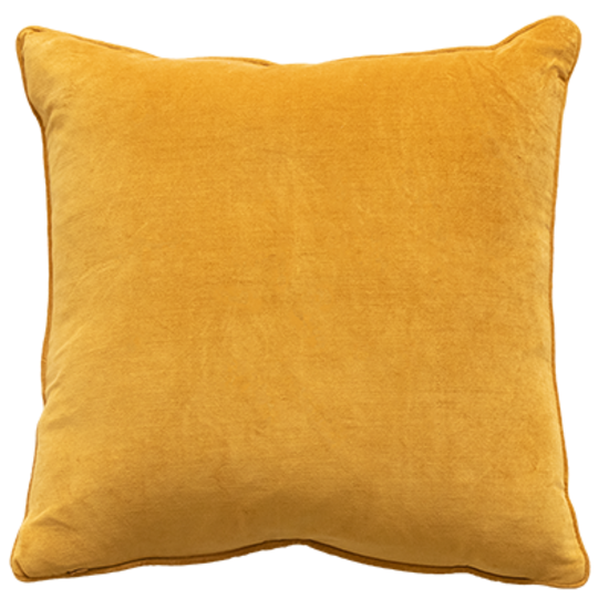 Montpellier Cushion with Polyester Inner - Ochre