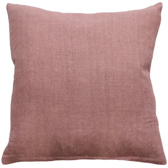 Indira Cushion with Feather Inner - Rose