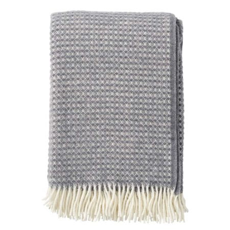 Throw 100% Lambs Wool - Diamond Grey
