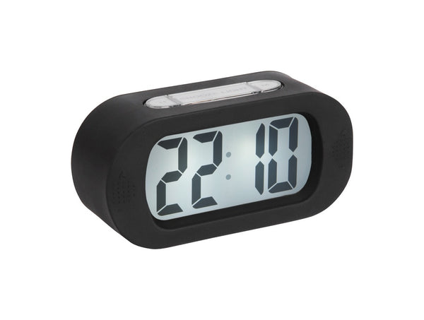Karlsson Alarm Clock Gummy Black