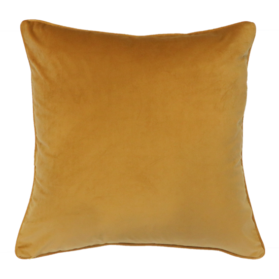 Quattro Cushion with Feather Inner - Honey Mustard