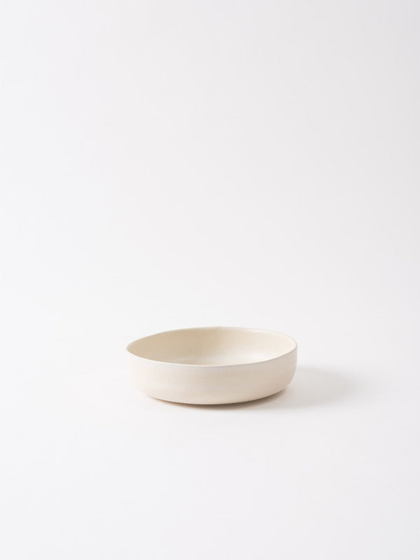 Milu Serving Bowl Off White M