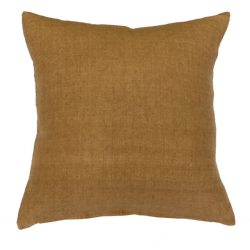Indira Cushion with Feather Inner - Nubuck