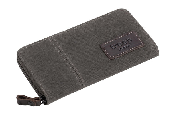 Keystone Long Canvas Wallet - Olive