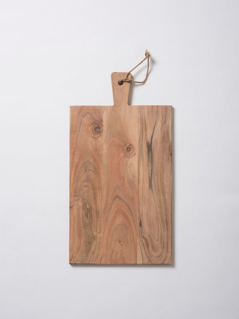 Acacia Rectangular Chopping Board Natural XL
