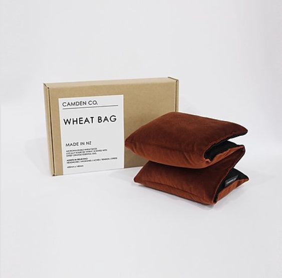 Wheat Bag - Copper Velvet