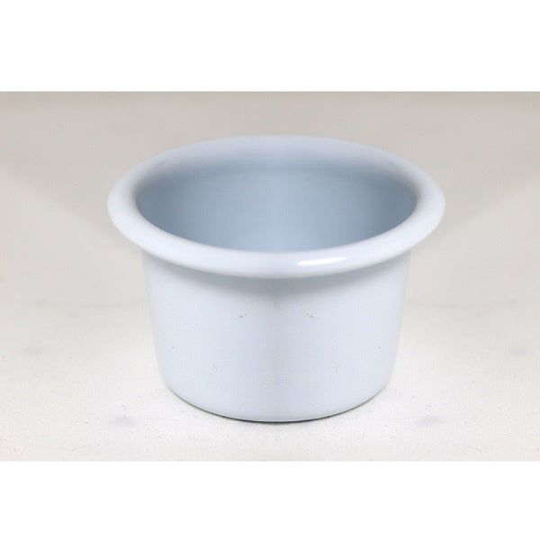 Enamel Mini Dip Bowl 6cm White