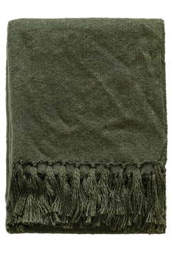 Rhapsody Acrylic Throw - Khaki
