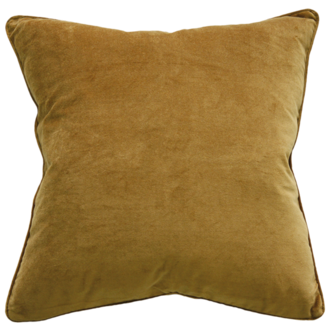 Montpellier Cushion with Feather Inner - Saddle