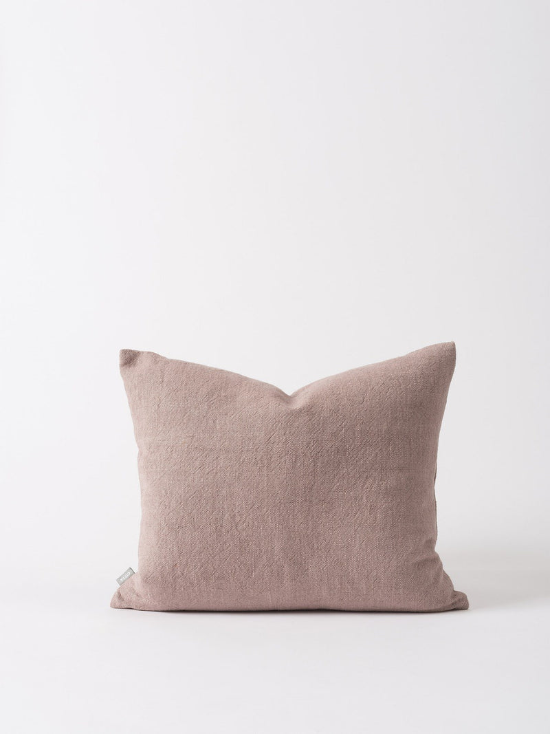 Washed Woven Cushion Cover Thistle 55x45cm