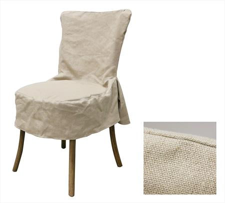 Linen Vienna Chair Full Slip Cover