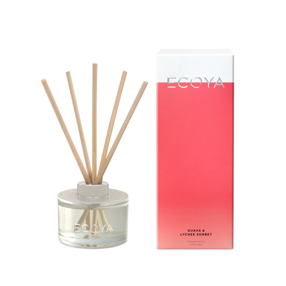 Mini Reed Diffuser - Guava & Lychee Sorbet