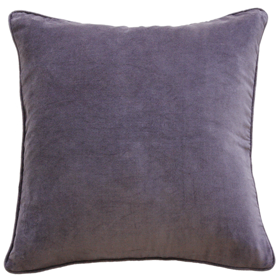 Montpellier Cushion with Polyester Inner - Grape