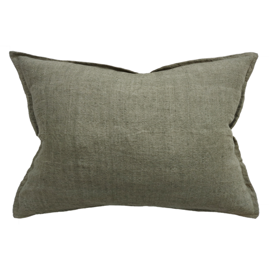 Arcadia Cushion with Feather Inner Moss