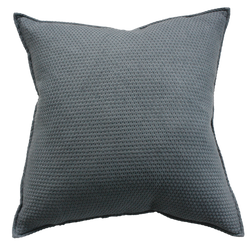 Sumba Cushion with Feather Inner - Storm Grey 50cm