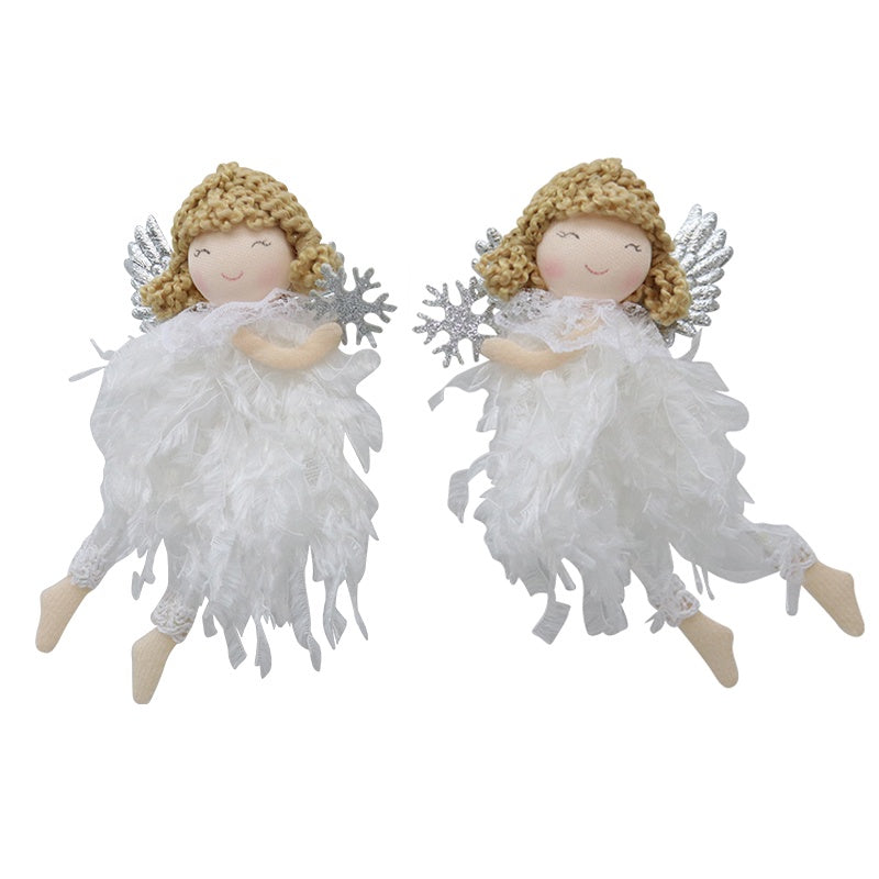 Angel Decoration White