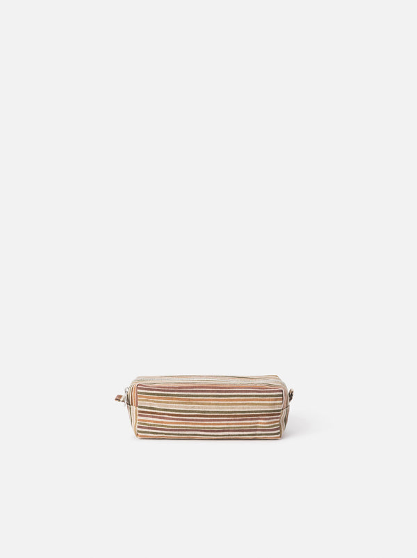 Hara Wash Bag Brick/Multi S