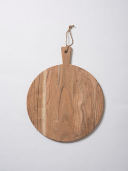 Acacia Round Chopping Board Natural M