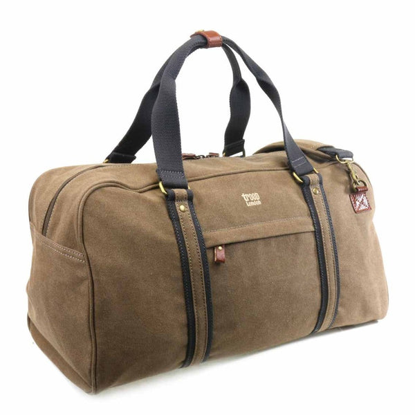 Explorer Holdall - Brown with Black Trim