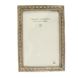 Antique  Silver Rectangle Frame 4x6""