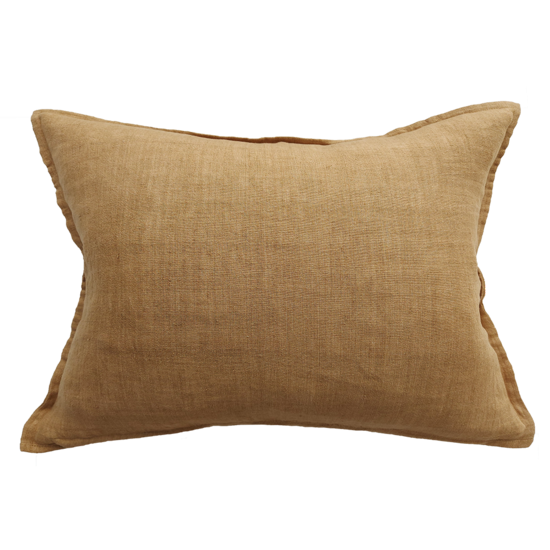 Arcadia Cushion with Feather Inner Cumin