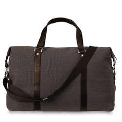 Canvas Weekender Bag Brown