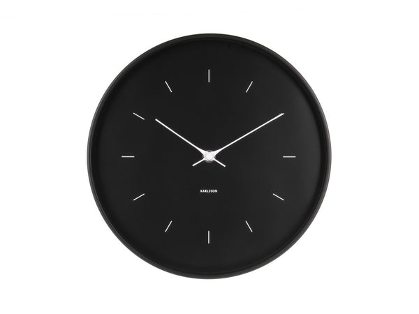 Karlsson Butterfly Clock Black Medium