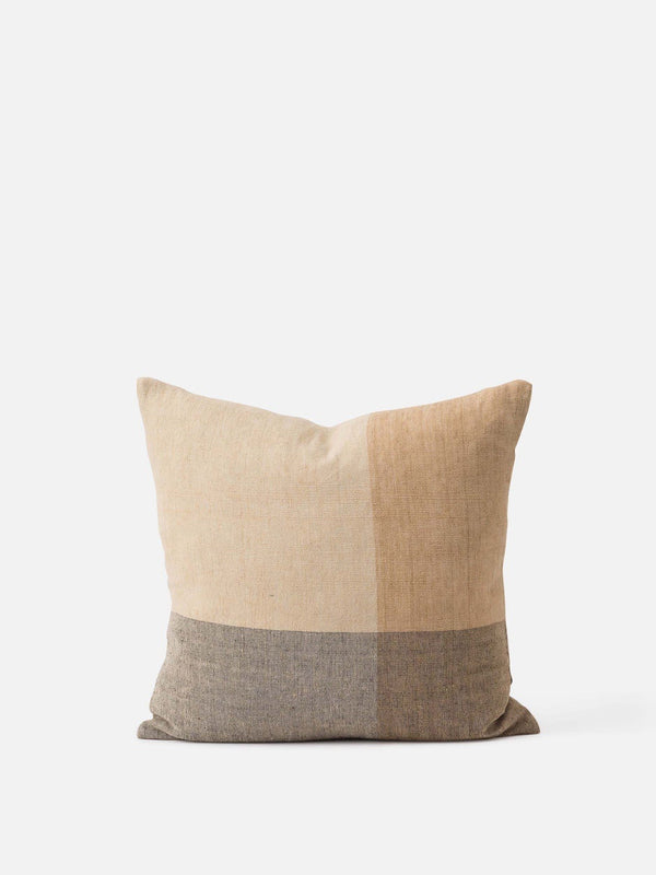 Henri Handwoven Linen Cushion Cover Multi
