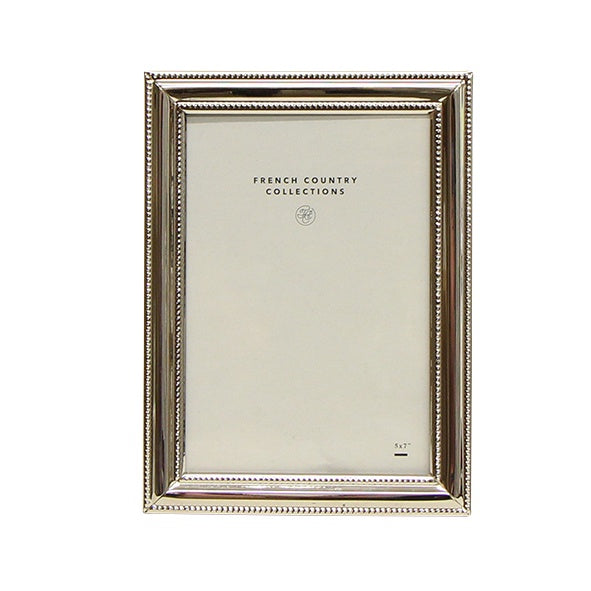 Rosa Thick Silver Frame 5x7""