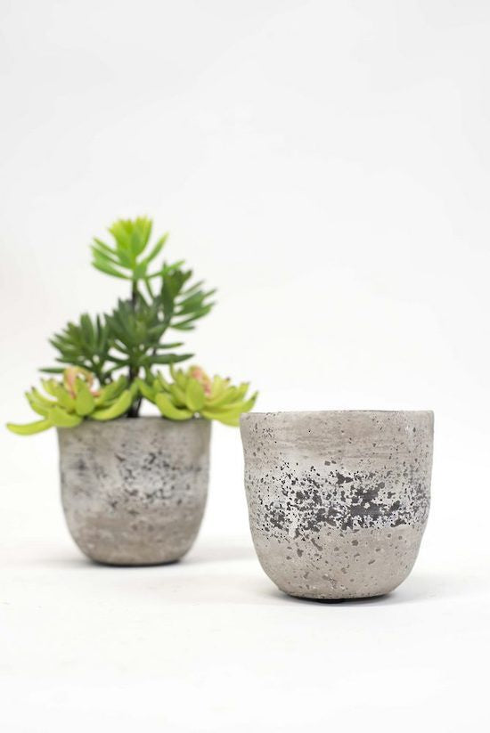 Cement Pot Small
