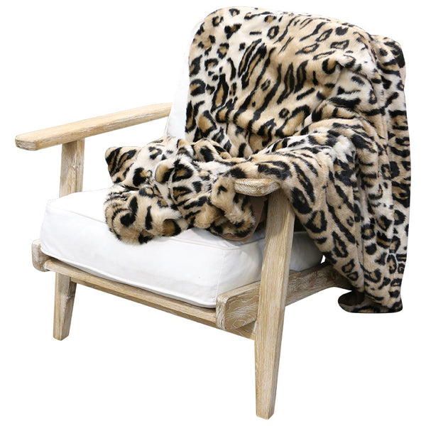 Faux Fur Throw Larry