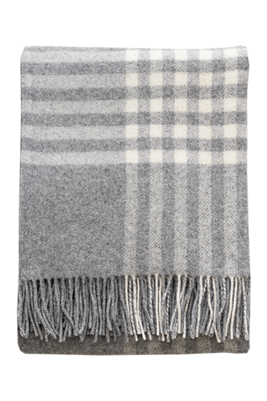 Walter Wool Throw - Grey 140x200cm