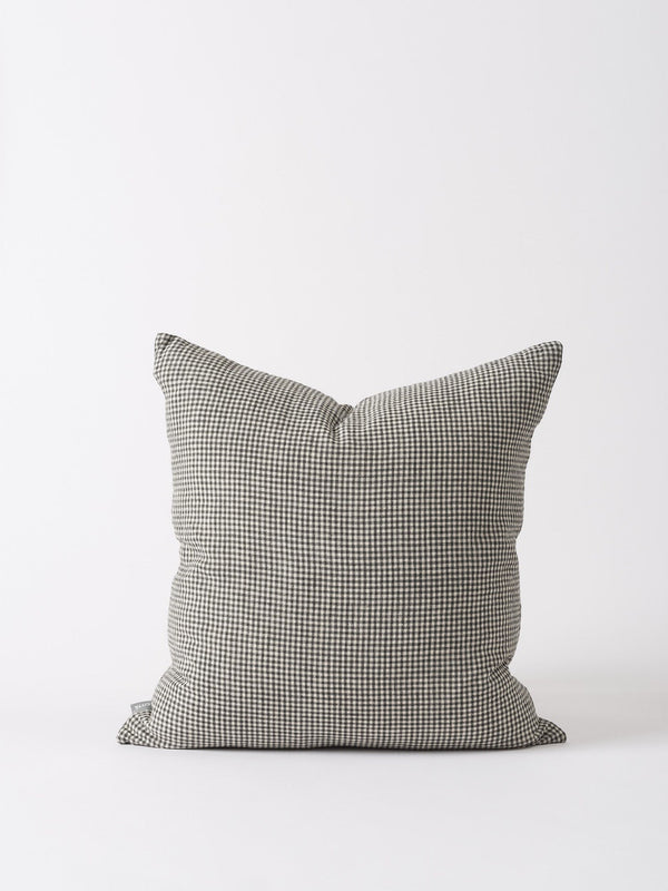Bonnie Woven Cushion Cover Pepper/Natural 55cm
