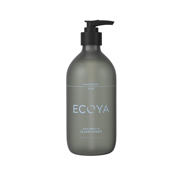 Hand & Body Wash (450ml) - Coconut & Elderflower