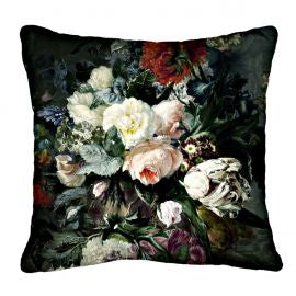 Blooming Posy Large Square Cushion