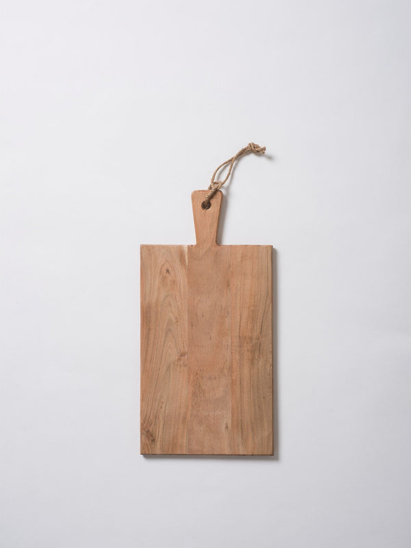 Acacia Rectangular Chopping Board Natural M