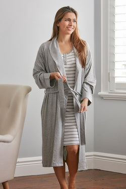 NORA Robe Foggy Grey