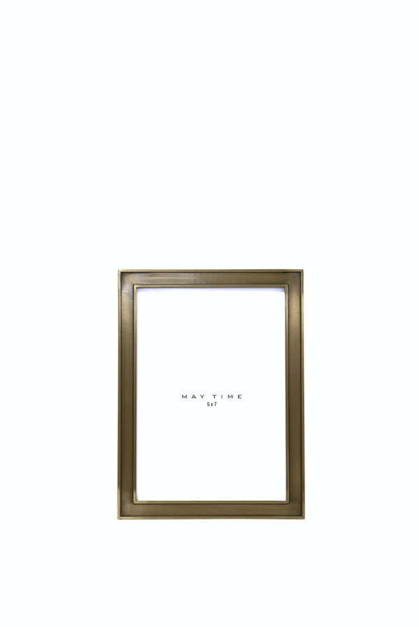 Audrey Frame 5x7 Antique Brass Finish