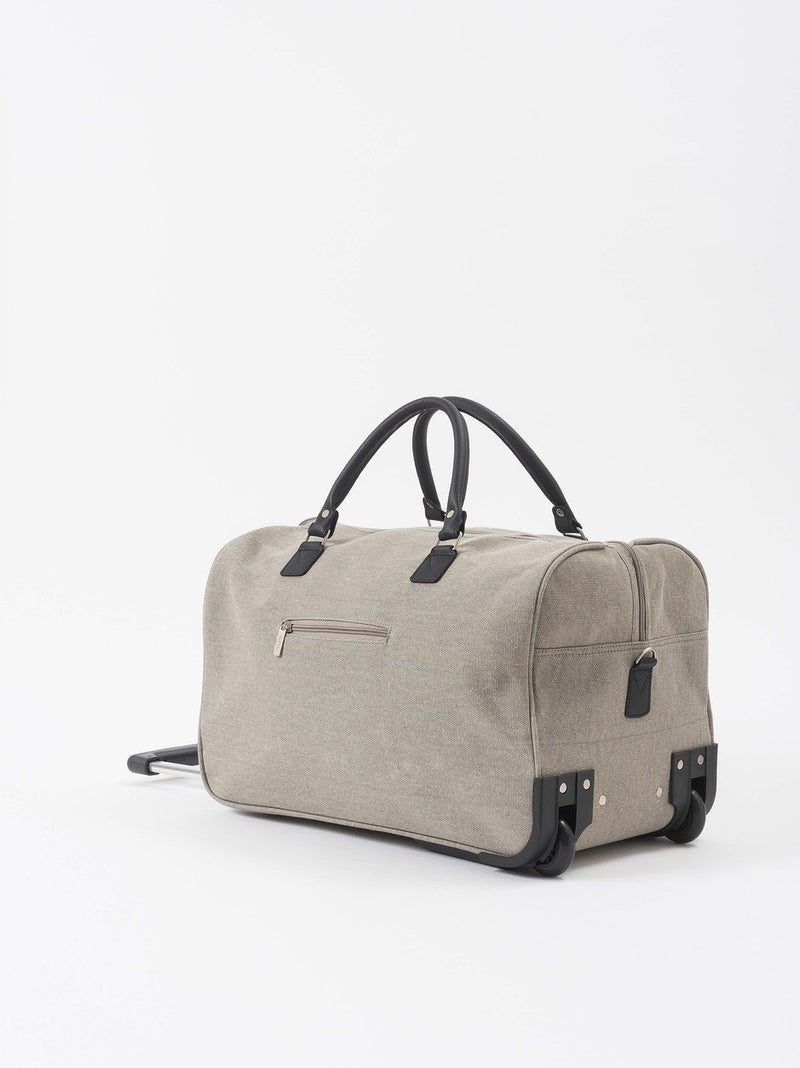 Canvas Trolley Bag Grey