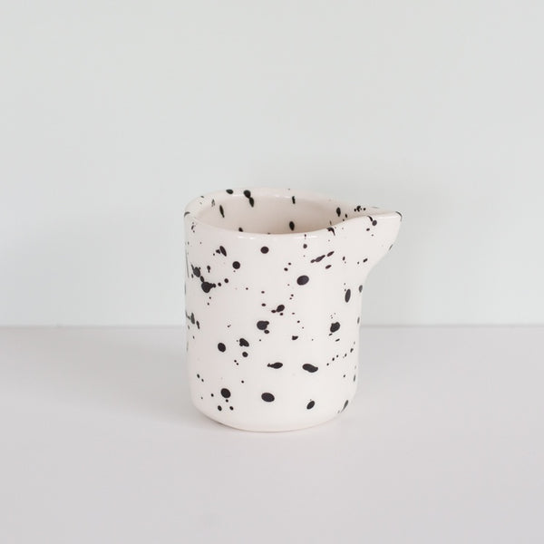 Splatter Jug Black/White