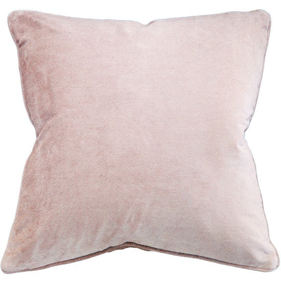 Montpellier Cushion with Polyester Inner - Rose Quartz