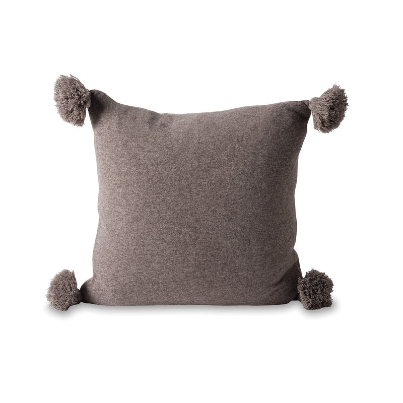 Marl Knitted Wool Blend Cushion Cover Date