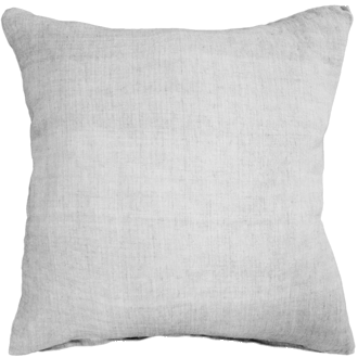 Indira Cushion with Feather Inner - White