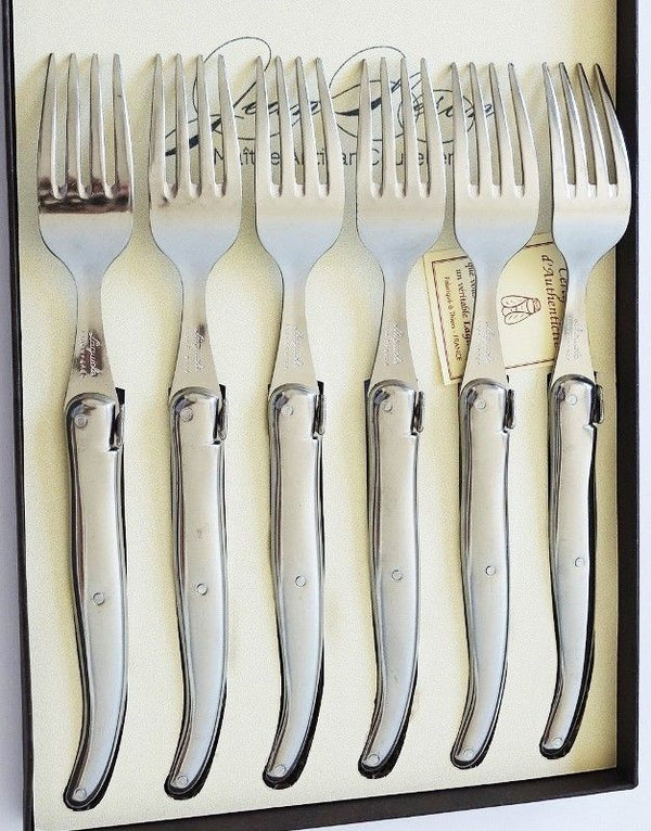 Laguiole Table Forks Set/6 Stainless Steel