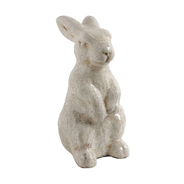 Chalk White Standing Rabbit