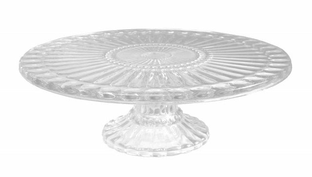 Ribbed Cake Plate