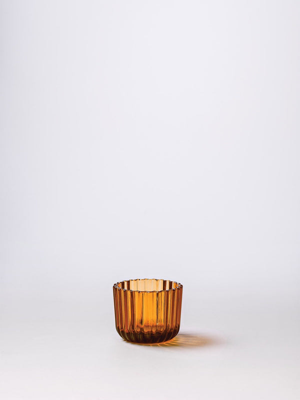 Momentum Tealight Holder Amber