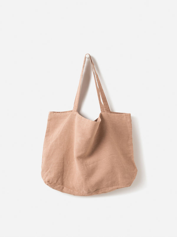 Washed Linen Bag Oat